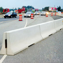 Concrete Traffic Barrier