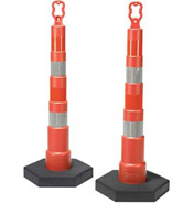 Reflective Traffic Safety Cones and Barrels